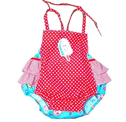 Baby Romper, Strandanzug,Sommer Spielanzug 9-12 Monate, Handmade Unikat