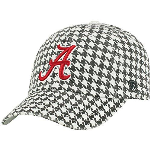 Top of the World NCAA Herren College Town Crew verstellbar Baumwolle Crew Hat Cap, Herren, Alabama Crimson Tide-Houndstooth, Einstellbar