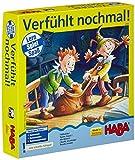Haba 4590 - Verfühlt nochmal, Lernspiel für 2-6 Spieler von 3-6 Jahren, spannendes Such-Fühlspiel zur Schulung der Feinmotorik, auch mit ruhiger Spielvariante