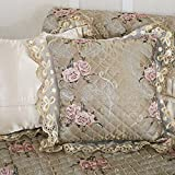 DW&HX Throw-Pillow-Covers,European embroidery cloth pillow sets sofa cushions - Best Reviews Guide