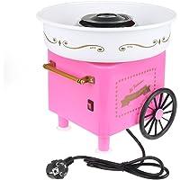 Machine à Barbe à Papa Cotton Candy Appareil pour Maison 450W Taille:27x26x18cm (31 * 31 * 30cm rose)