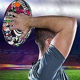Optimum Men's Street Ii Rugby Ball, Multicolour, Size 4
