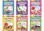 Copy Colour Book - 1 to 6 (Pack)