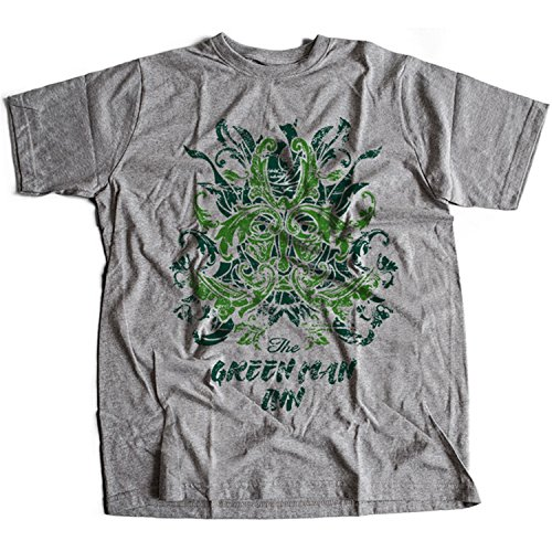 9369g Green Man Inn Herren T-Shirt The Wicker Man Summerisle Festival Lord Burning - Man-shirt Wicker
