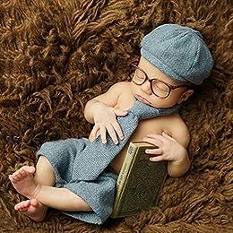Alta calidad. Características: Ideal para mostrar su bonita personalidad cuando la fotografía Maravilloso regalo para tu bebé. Es solo para tomar fotos de bebé, la calidad es menor que el uso diario. Especificaciones: Material: mezcla de algo...