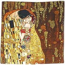 Les Trésors de Lily Q0251 - Square french touch Gustav Klimt (