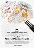 Art Forms in Nature (Haeckel): Giant Artists' Colouring Book (Giant Artists' Colouring Books)