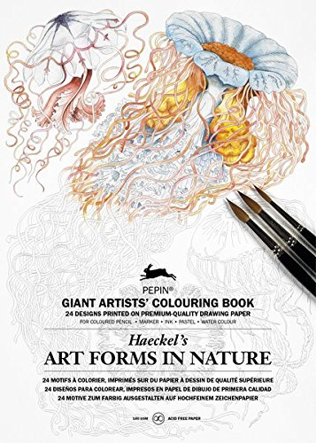 Art Forms In Nature Colouring Book (Giant Artists Colouring Book)