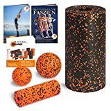 Blackroll Orange (Das Original) Starter Set mit 2x Faszien-Rolle & 2x Massageball, inkl. Booklet, eBooks und App