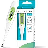 Femometer Digitales Fieberthermometer, Genaue Und Schnelle Ablesungen, wasserdichte Sonde, Fieber thermometer Digital am…