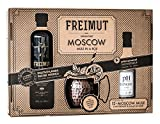 FREIMUT Moscow Mule in a Box - Set mit Kupferbecher und Ginger Sirup