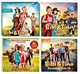 Bibi & Tina - Original Filmmusik/Soundtrack 1-4 zum Kinofilm im Set - Deutsche Originalware [4 CDs]