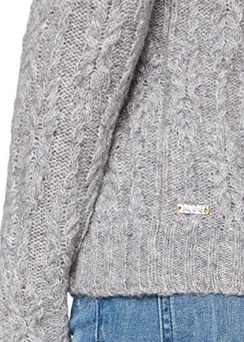 BOSS Casual Damen Pullover Grau (Medium Grey 032)
