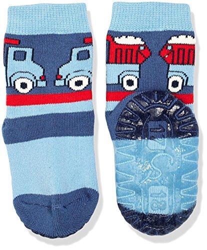 Sterntaler Baby-Jungen Socken Fli Fli Soft Lkw, Blau (Nachtblau 366), 22