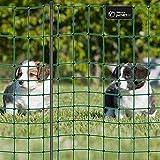 VOSS.PET Premium-Netz 12m 65cm petNET Elektronetz Elektrozaun Gartenzaun Hobbyzaun tannengrün