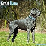 Kalender 2018 Deutsche Dogge - Great Dane mit Weihnachtskarte