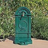 CLGarden WZS5 robinet d'eau verte, Fontaine Pompe murale Eau Robinet Support pour jardin