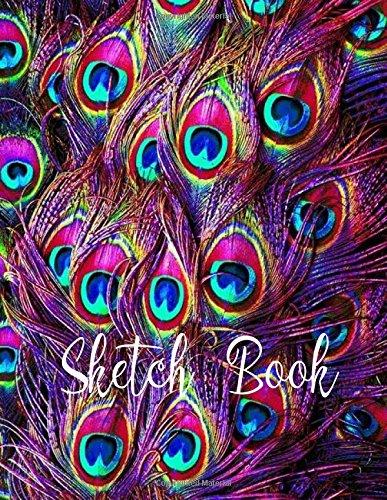 Sketch Book: ( Peacock ) 8.5