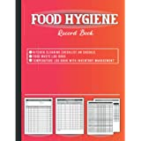 Food Hygiene Record Book: ALL in One Book includes Kitchen Cleaning Log, Food Temperature Log Book with Inventory…