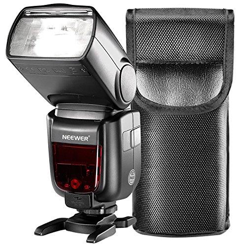 Neewer GN60 2.4G manueller HSS Haupt Slave Blitz Speedlite für Sony A7 A7S A7SII A7R A7RII A7II A6000 A6300 A6500 A77II A58 A99 Kameras mit neuem Mi Hot Schuh(NW865S)