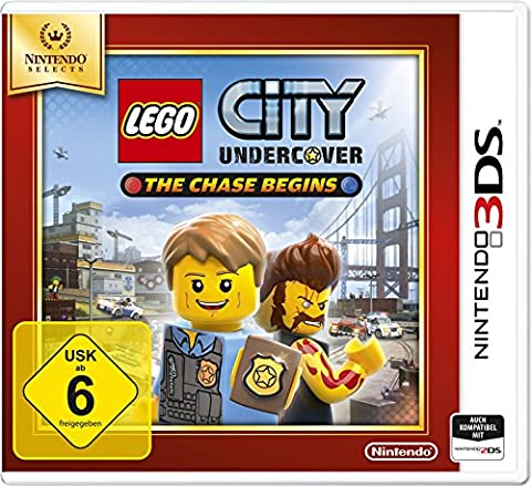 Nintendo 3DS City Undercover: The Chase Begins