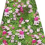 Gkingif Teppich Kreative 3D Polyester Teppich Rechteckigen Stereo Tier Und Kind Kinder Teppich Schlafzimmer Wohnzimmer Küche (Muster : Pinke Blumen, Größe : 120cm*160cm)