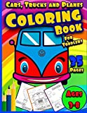 Best Books For Kids Age 3s - Cars, Trucks and Planes Coloring Book For Toddlers: Review