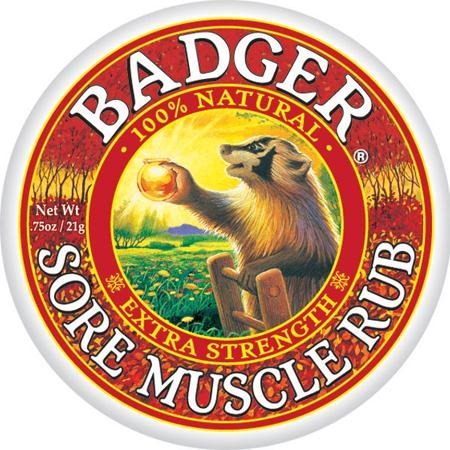 Badger Sore Muscle Rub Zusätzliche Strength/0.75 Unze. -