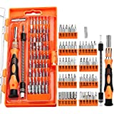 TOPELEK GEDS009AY - Kit Cacciaviti Riparazione 58 in 1, Arancione