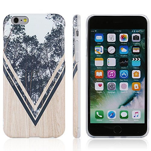 iPhone 6 6s Case,DICHEER IMD TPU iPhone 6 Phone Case,Soft Flexible TPU Slim Fit Protective Marble Case Cover iPhone 6 6S 4.7'' only (marble-01) grey-06