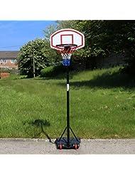 URBN Toys Outdoor Free Standing Portable Adjustable Basketball Hoop & Net Set