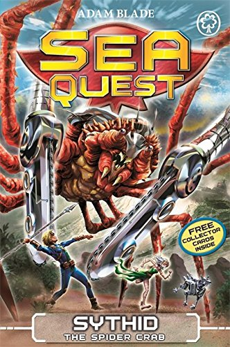 Sea Quest: 17: Sythid the Spider Crab