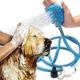 Rishx-Pet Baden Werkzeug Komfortable Reinigung Waschen Bad Sprayer Hund Pinsel Komfortable Massagegerät Duschkopf Heimtierbedarf