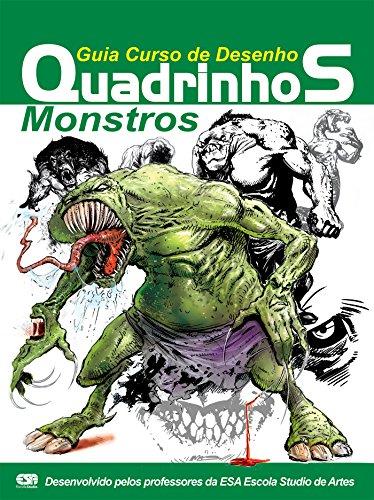 Guia Curso de Desenho Quadrinhos - Monstros Ed.01 (Portuguese Edition) por On Line Editora
