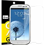 NEW'C PanzerglasFolie Schutzfolie für Samsung Galaxy S3, Frei von Kratzern Fingabdrücken und Öl, 9H Härte, HD Displayschutzfolie, 0.33mm Ultra-klar, DisplayschutzfolieSamsung Galaxy S3