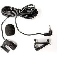 Freeauto Microfono per Auto 3.5MM Mic Microfono Esterno Montaggio per Auto Veicolo Head Unit Bluetooth Audio Stereo…