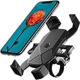 BETOWEY Porta Cellulare Moto, Smartphone Supporto Telefono Bici per Dispositivi Elettronici 4.5-7 Pollici Universale…