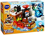 Vtech 177803 Toot Friends Kingdom Pirate Ship Toy, Multi-Colour