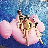 Fenicottero Gonfiabile e Galleggiante per Mare e Piscina. Bambini e adulti piscina gonfiabile Fenicottero. Gonfiabile piscina giocattolo Fenicottero(Flamingo)