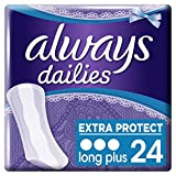 Always Protège-Slips Long Plus x 24 Lot de 2