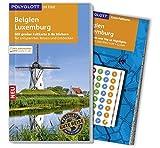 POLYGLOTT on tour Reiseführer Belgien/Luxemburg: Mit großer Faltkarte, 80 Stickern und individueller App