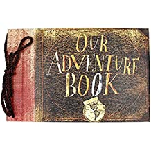My Adventure Book Pixar hasta hecho a mano DIY Scrapbooking/álbum de fotos