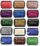 Dovecraft, Stempelkissen, Pigmenttinte, hochwertig, 15 Stück