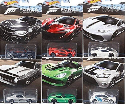 Hot Wheels 1:64 Forza Motorsport 2017 Set mit 6 Fahrzeugen