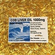 The Vitamin Cod Liver Oil 1000mg 90 Capsules - Bagged