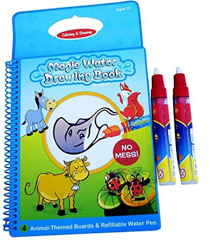 Libro de magia de Rangebow agua reutilizable dibujo y la pluma mágica para 2 años más - animales (GC00601)