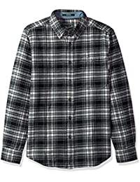 Woolrich Men's Trout Run Flannel Shirt Modern Fit
