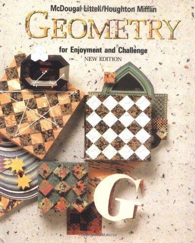 McDougal Littell Geometry for Enjoyment & Challenge: Student Edition Geometry 1991 by MCDOUGAL LITTEL Published by MCDOUGAL LITTEL New edition (1991) Hardcover