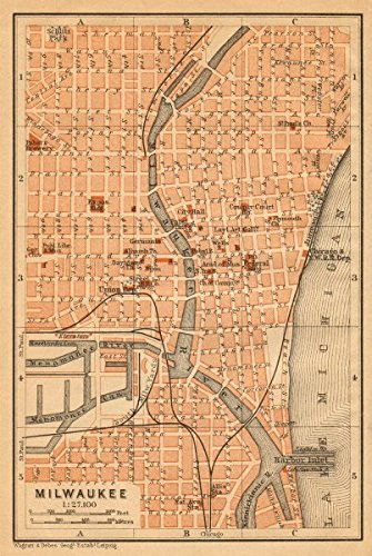 milwaukee-antique-town-city-plan-wisconsin-baedeker-1904-old-antique-vintage-map-printed-map-s-of-wi