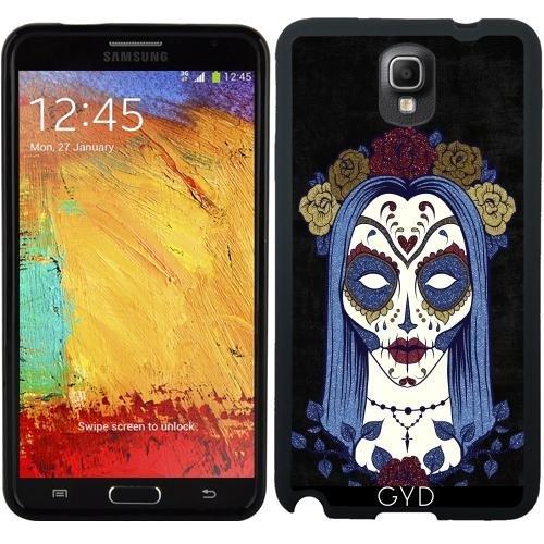 amsung Galaxy Note 3 (SM-N9005) - Dunkel Gothic Rose Sugar Skull by Gatterwe (Zucker Schädel-ideen Für Halloween)